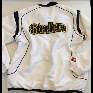 Pittsburg Steelers 🌷NFL Jkt Sz L fully lined